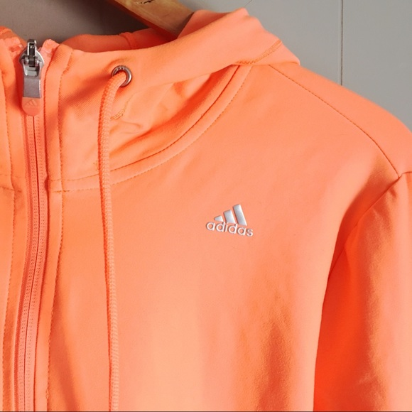 ADIDAS CT Core Hooded Training Jacket Neon Hoodie